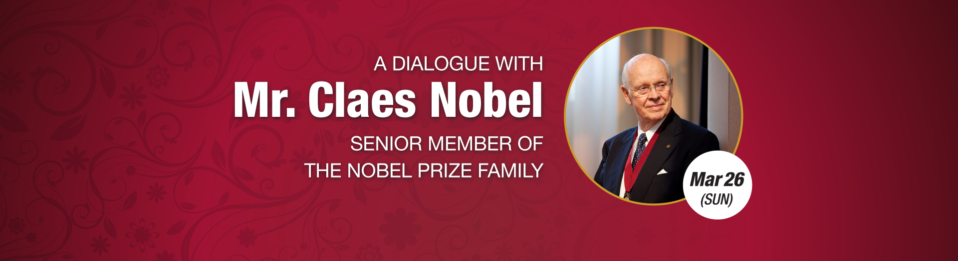 A Dialogue with Mr Claes Nobel