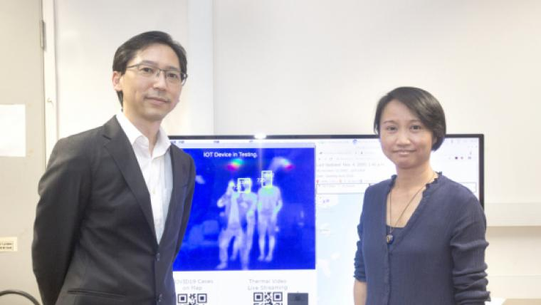 HKU Engineering team develops handy multi-purpose IoT device to enable the public to stay alert during the pandemic